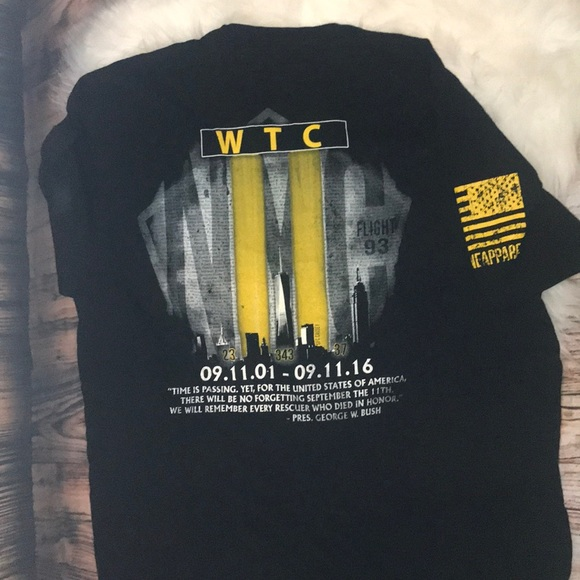 Nine Line Commemorative Limited Wtc 9/11 Shirt Masswerks Store